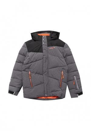 Куртка утепленная Icepeak. Цвет: серый