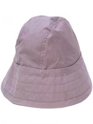 Шляпа без полей Craig Green. Цвет: розовый и фиолетовый