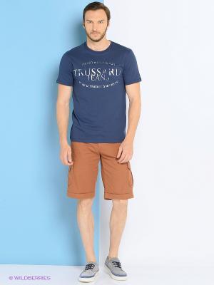 Шорты Trussardi. Цвет: коричневый