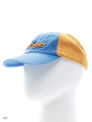 Бейсболка Wrangler. Цвет: синий, желтый