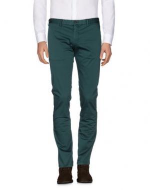 Повседневные брюки EREDI RIDELLI. Цвет: изумрудно-зеленый