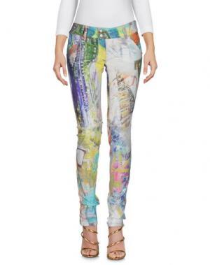 Джинсовые брюки NOLITA. Цвет: желтый