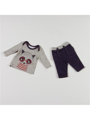Комплект одежды BABALUNO. Цвет: серый, синий