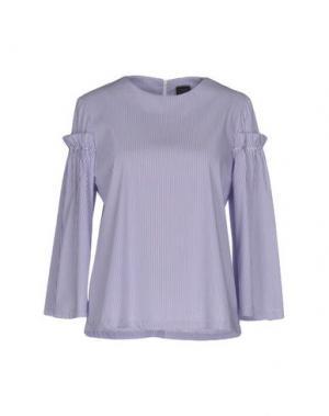 Блузка GUTTHA. Цвет: фиолетовый