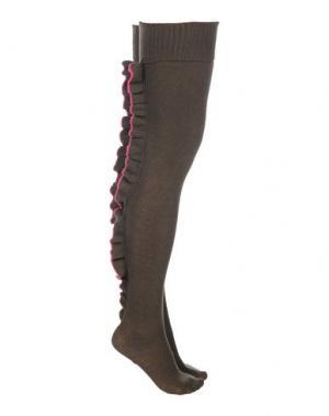 Носки REDValentino. Цвет: зеленый-милитари