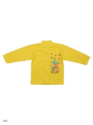Кофточка Babycollection. Цвет: желтый