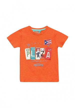 Футболка Chicco. Цвет: оранжевый