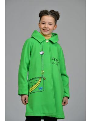 Пальто DESTY. Цвет: светло-зеленый
