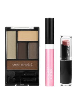 Подарочный набор WnW 92 Wet n Wild. Цвет: розовый, голубой