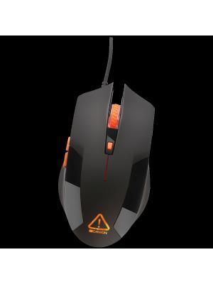 Игровая проводная оптическая мышь CANYON CND-SGM2. Цвет: черный