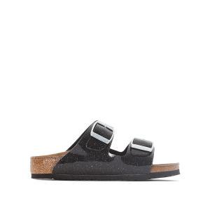 Туфли без задника синтетические BIRKENSTOCK. Цвет: черный