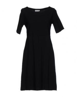 Короткое платье BRUNO MANETTI. Цвет: черный