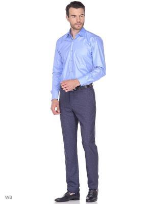 Рубашка Fayzoff-SA. Цвет: голубой