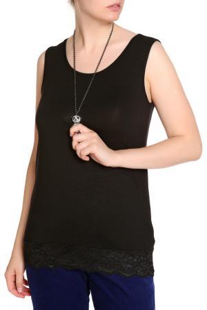 Блуза RITA PFEFFINGER. Цвет: черный