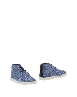 Полусапоги и высокие ботинки CLAE. Цвет: грифельно-синий