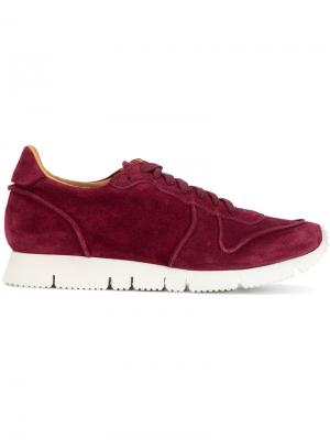 Кроссовки со шнуровкой Buttero. Цвет: красный