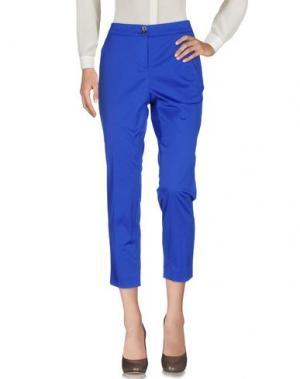Повседневные брюки CLAUDIA STRÄTER. Цвет: ярко-синий
