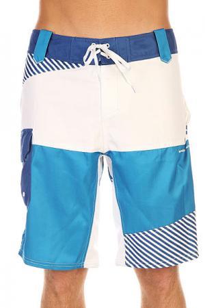 Шорты пляжные  Active Blue Picture Organic. Цвет: голубой