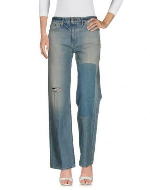 Джинсовые брюки SIMON MILLER. Цвет: синий