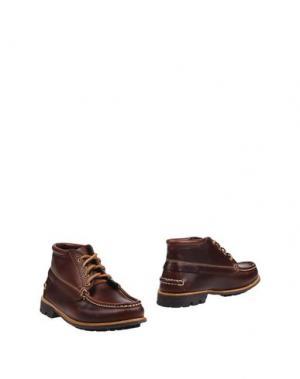 Полусапоги и высокие ботинки G.H. BASS & CO. Цвет: какао