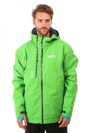 Куртка  Base Green Picture Organic. Цвет: зеленый
