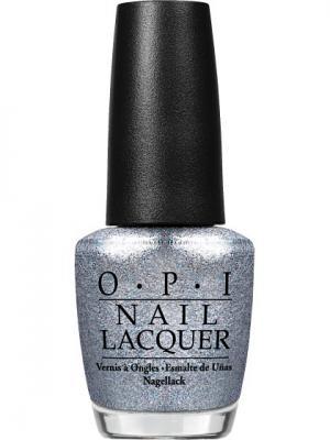 Opi Лак для ногтей NL- Shine for Me, 15 мл. Цвет: серебристый