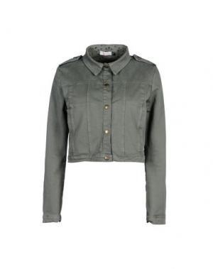Куртка GEORGE J. LOVE. Цвет: зеленый-милитари