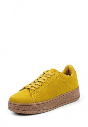 Кеды Ideal. Цвет: желтый