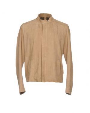 Куртка OLIVIERI. Цвет: бежевый