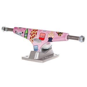 Подвеска для скейтборда 1шт.  Graphic Reyes 8 (27.3 см) Krux. Цвет: розовый,мультиколор,серый