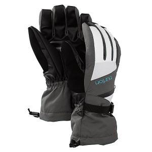 Перчатки сноубордические женские  Wb Gore Glv Heathers/Bright White Burton