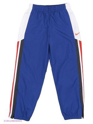 Брюки N45 BLITZ W PANT YTH Nike. Цвет: синий