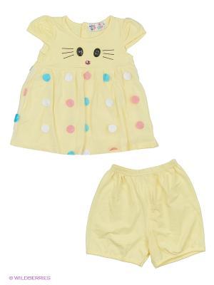 Комплект одежды Patano. Цвет: желтый