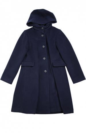 Пальто Caf. Цвет: синий