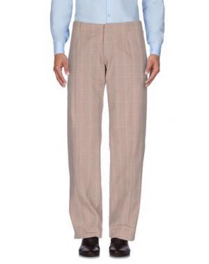 Повседневные брюки DANIELE ALESSANDRINI. Цвет: хаки