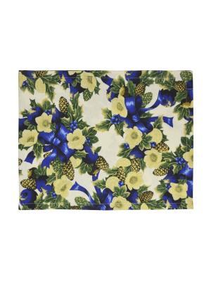 Дорожка на стол New Year 45х170 см. синий T&I. Цвет: синий