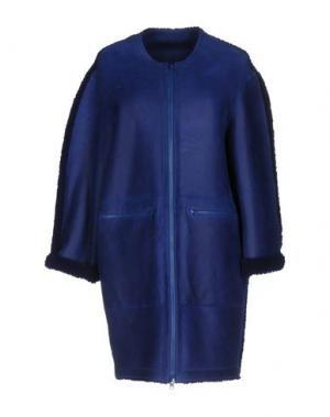 Пальто SPRUNG FRERES. Цвет: ярко-синий