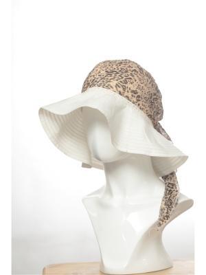 Шляпа FOMAS. Цвет: белый, бежевый