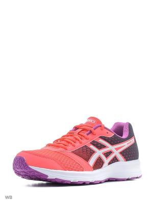 Кроссовки PATRIOT 8 ASICS. Цвет: розовый, белый, фиолетовый