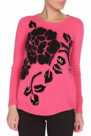 Джемпер VDP. Цвет: розовый