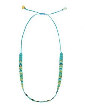 Ожерелье MISHKY. Цвет: бирюзовый