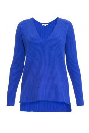 Кашемировый джемпер 141148 Myone Cashmere. Цвет: синий