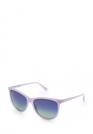 Очки солнцезащитные Polaroid. Цвет: фиолетовый