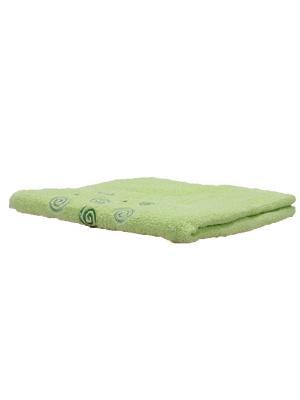 Полотенце махровое KONONO. Цвет: зеленый