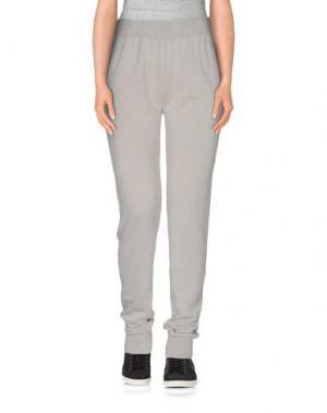 Повседневные брюки WETPAINT. Цвет: светло-серый
