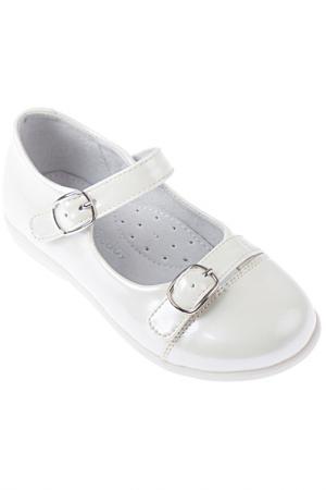 Туфли PlayToday. Цвет: белый жемчужный