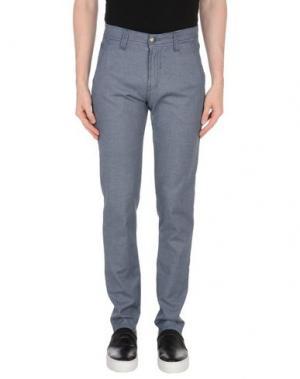Повседневные брюки NICWAVE. Цвет: синий