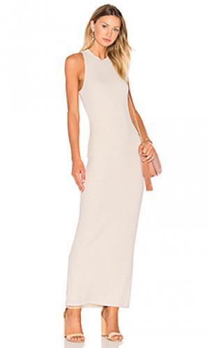 Платье payton De Lacy. Цвет: беж