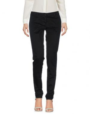 Повседневные брюки UZÈS. Цвет: черный