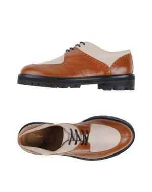 Обувь на шнурках L'F SHOES. Цвет: бежевый